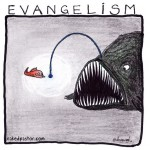 evangelism cartoon by nakedpastor david hayward