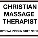 stiff neck massage therapist cartoon by nakedpastor david hayward