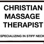 stiff neck massage therapist cartoon by nakedpastor david hayward