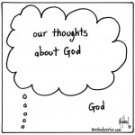 our thoughts about God and God