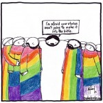 jesus prophesies to the lgbt community cartoon by nakedpastor david hayward