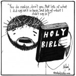 Jesus has something to say about the Bible