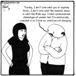 women stereotype cartoon by nakedpastor david hayward