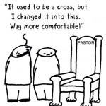 from cross to throne cartoon by nakedpastor david hayward