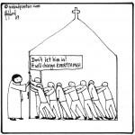 the church versus Jesus