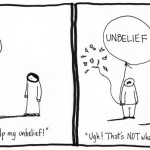 jesus help my unbelief cartoon by nakedpastor david hayward