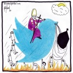 catholics twitter out of hell cartoon by nakedpastor david hayward