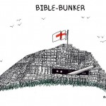 bible bunker cartoon by nakedpastor david hayward