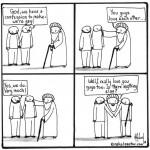 gays confessing cartoon by nakedpastor david hayward