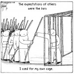 expectation cage cartoon by nakedpastor david hayward