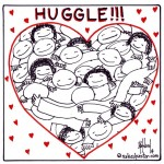 huggle cartoon by nakedpastor david hayward