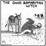 the good witch cartoon by nakedpastor david hayward