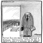 pastor afraid to preach cartoon by nakedpastor david hayward