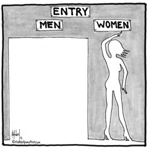 """Entry for Men and Women"" (by nakedpastor David Hayward)"