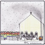 gays wait cartoon by nakedpastor david hayward