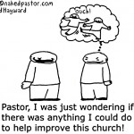 improve church cartoon by nakedpastor david hayward
