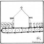 church safe place to question cartoon by nakedpastor david hayward