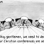 Why Christian conferences are sexist.