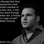 mark driscoll and a christmas virgin cartoon by nakedpastor david hayward