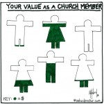 value church member cartoon by nakedpastor david hayward