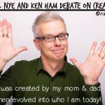 bill nye ken ham debate creationism cartoon by nakedpastor david hayward