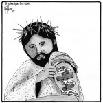 jesus tattoo cartoon by nakedpastor david hayward