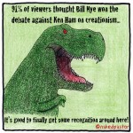 T-Rexognition: Did Nye win creationism debate against Ham?