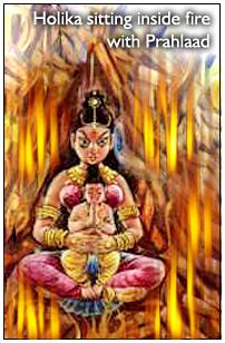 Holika and Prahlad