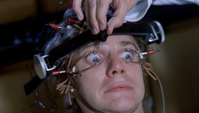there is a significant  A Clockwork Orange Alex Eye