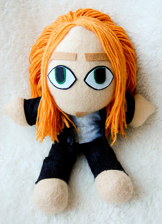 Tim Minchin Plushie Doll