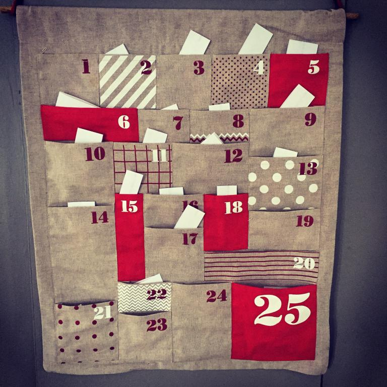 next pottery be holiday guess will ideas amazing kids great i for christmas tutorial calendars barns full the pin what inspired doin barn advent month tree calendar