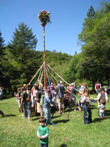 Multicultural Maypole in Baltimore