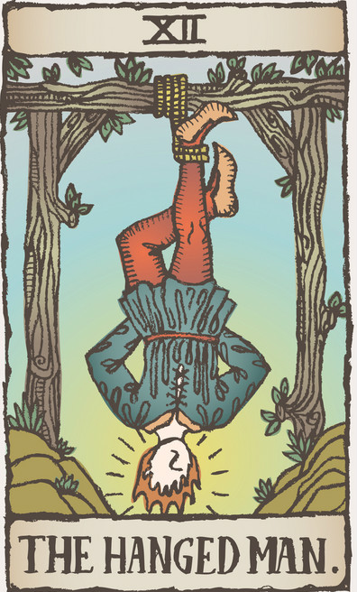 The Hanged Man Predictive Tarot Card Meanings