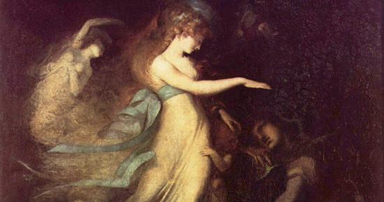 """""""Prince Arthur and the Fairy Queen"""" by Johann Heinrich Füssli. From WikiMedia"""