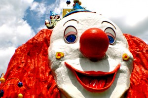 Prater Clown. photo by Sarah Ackerman. (cc) 2010.