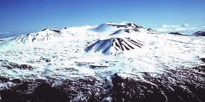Mauna Kea Summit in Winter. 8/9/2001. USGS
