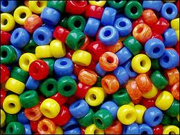 multicolor beads