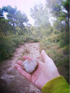 Αγαπη mountainheart'n'hand, photo by Mεllownious Φogo, (cc) 2013.