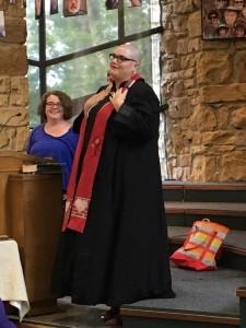 Meghann Robern Ordination Service 6/11/2017