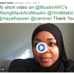 Muslims Tweet about #BeingBlackandMuslim