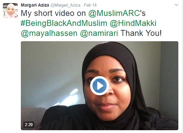 Muslims Tweet about #BeingBlackandMuslim