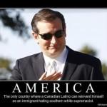 A Cruz crap-fest…..