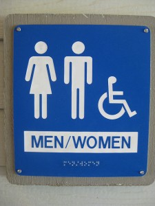 unisex bathroom