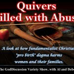 Quivers Filled With Abuse & Who Would Jesus Sue?