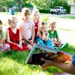 Large Family Christian Homeschooling and Child Evangelism Fellowship
