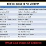 Laughter is Good Medicine: Biblical Ways to Kill Children