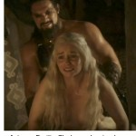 This might have been Dany's wedding night but there's still no much in the way of sexual consent going on.