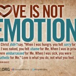 Quoting Quiverfull: Love is Not an Emotion?