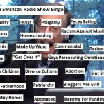 Radio Bingo card from