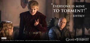 """The King - sort of like King Joffrey from """"Game of Thrones"""""""